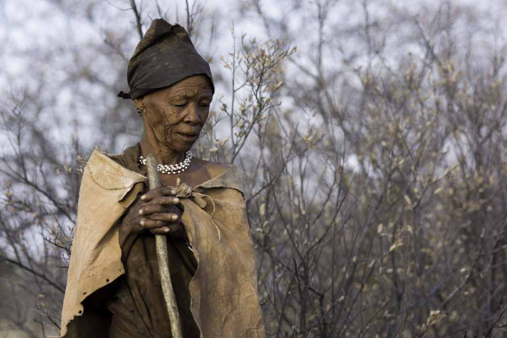 Map of time! Kalahari Bushmen on the border of Botswana. A lost culture trying to survive against adversity.